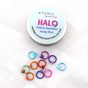 Halo Stitch Markers with tin