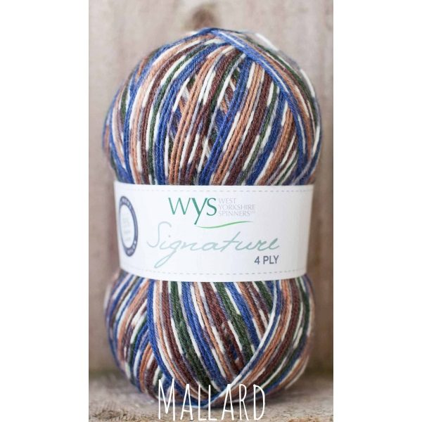 WYS Country Birds sock yarn Mallard