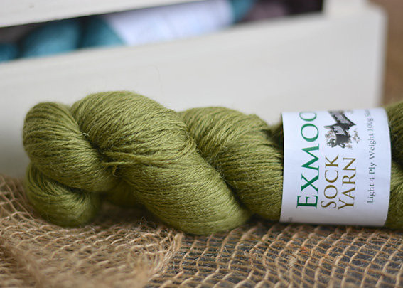 Exmoor Sock Yarn Avocado