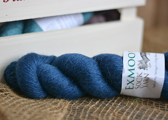 Exmoor Sock Yarn Midnight