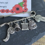 Knitting Charms by Doll's Designs