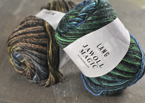 Jawoll Magic Stripes Sock Yarn by Lang