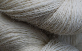 John Arbon Exmoor Sock Yarn Natural White