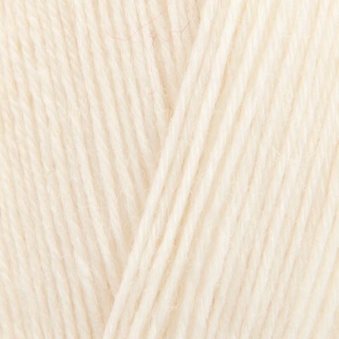 King Cole Zig Zag 4 Ply Sock Yarn Cream 753