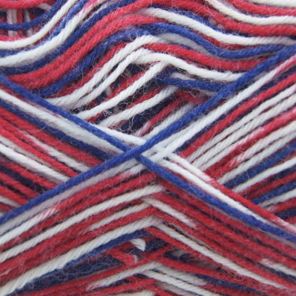 King Cole Zig Zag 4 Ply Sock Yarn jubilee-808