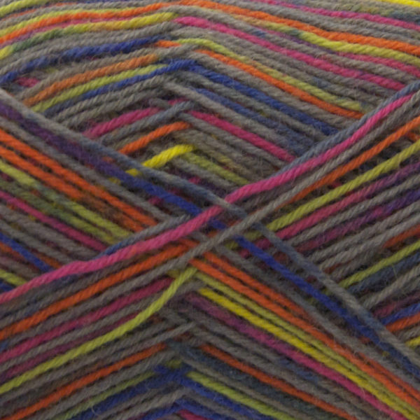King Cole Zig Zag 4 Ply Sock Yarn lightning-1626
