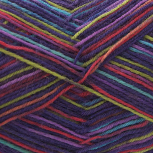 King Cole Zig Zag 4 Ply Sock Yarn poncho-1627