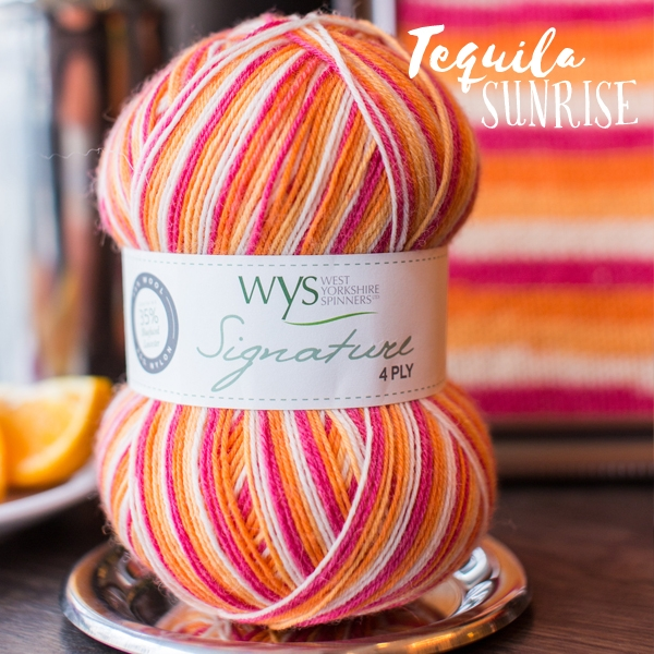 WYS Tequila_Sunrise sock yarn