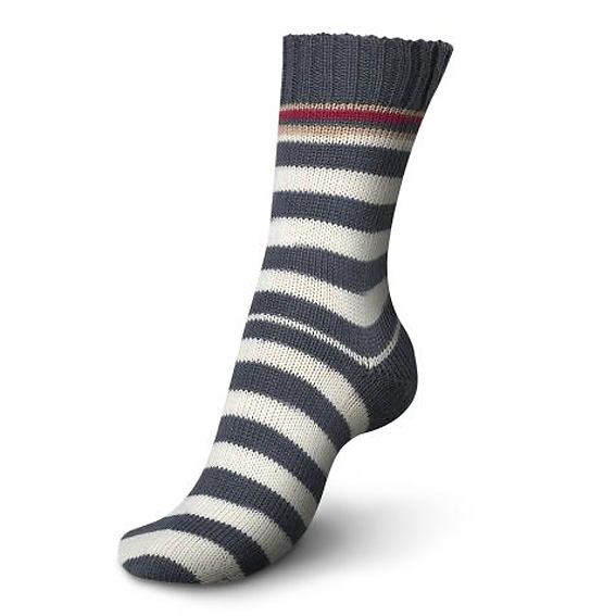 Regia Pairfect Stripe Sock Yarn 1346-Malaga