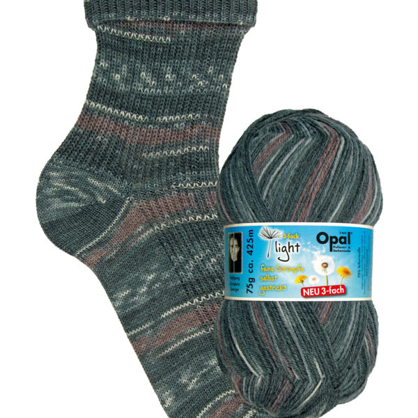 Opal Light 3 Ply Sock Yarn 9354 balance