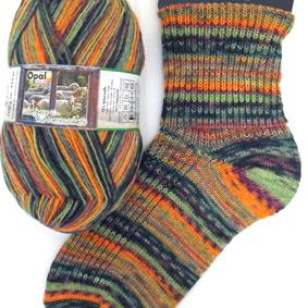 Opal Schafpate sock yarn Paula 7255