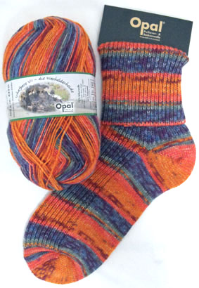 Opal Schafpate Flock Sock Yarn 8907