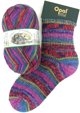 Opal Schafpate Heather Sock Yarn 8900