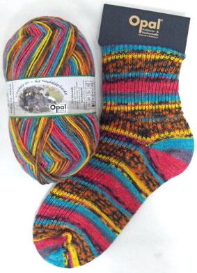 Opal Schafpate Landscape Sock Yarn 8901