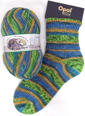 Opal Schafpate Mountains Sock Yarn 8902