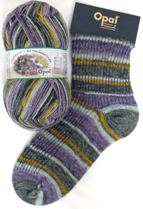 Opal Schafpate Wandering Sheep Sock Yarn 8904