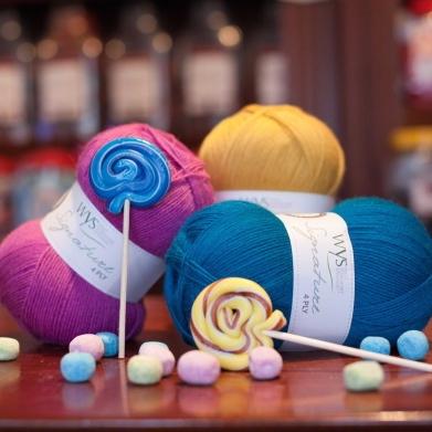 WYS Sweet Shop sock yarn
