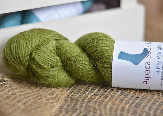 Alpaca Sock Yarn Moss