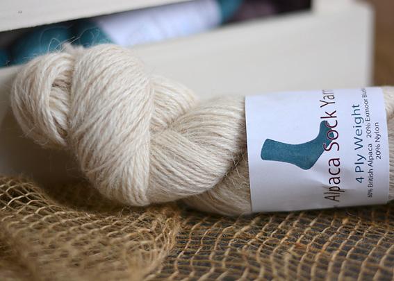 Alpaca Sock Yarn Oatmeal