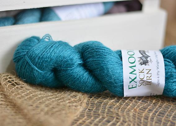 Exmoor Sock Yarn Peacock