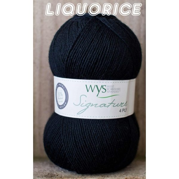 West Yorkshire Spinners Liquorice
