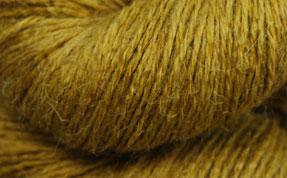 John Arbon Alpaca Sock Yarn Mustard