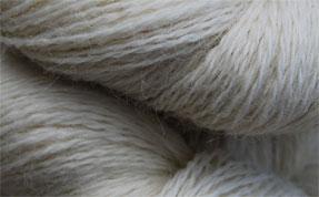 John Arbon Exmoor Sock Yarn Natural White