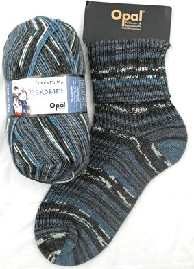 Opal Sock Yarn Moments_Memories 9084