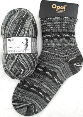 Opal Sock Yarn Moments_Rebellion 9087