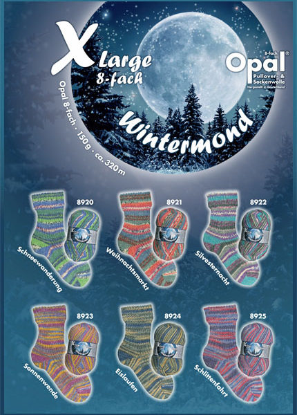 WinterMoon_8ply sock yarn