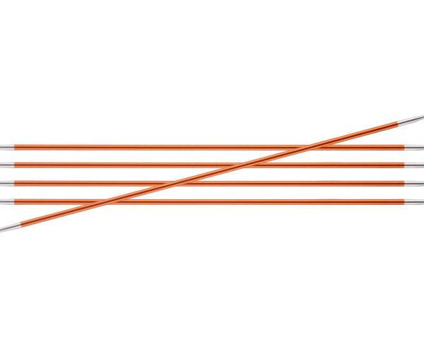 Knit Pro Zing DPN 2.75mm Carnelian