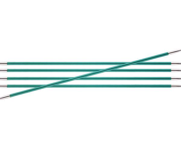 Knit Pro Zing DPN 3.25mm Emerald