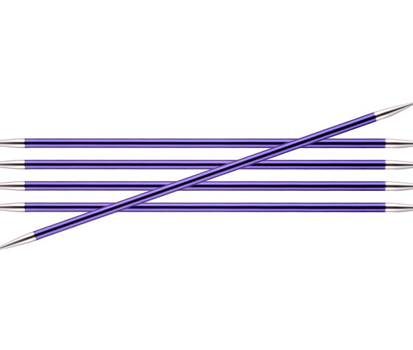 Knit Pro Zing DPN 3.75mm Amethyst