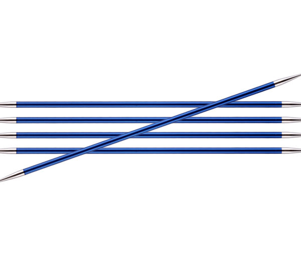 Knit Pro Zing DPN 4mm Sapphire
