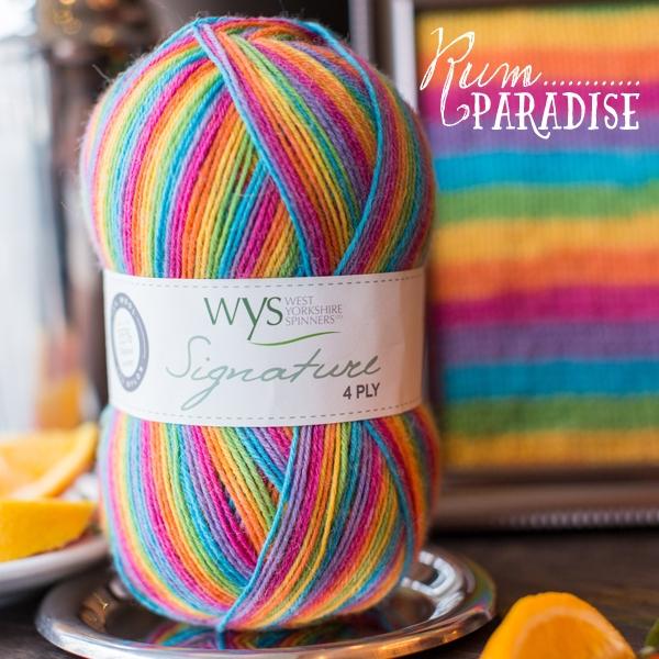 WYS Rum_Paradise sock yarn