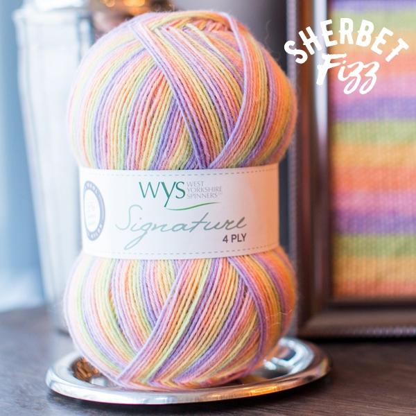 WYS Sherbet_Fizz sock yarn