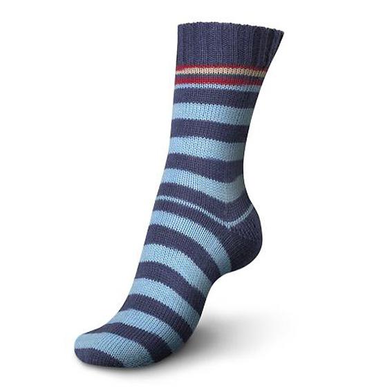 Regia Pairfect Stripe Sock Yarn 1342-Stockholm