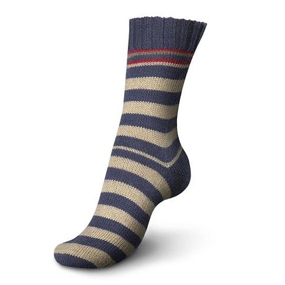 Regia Pairfect Stripe Sock Yarn 1344-Adria