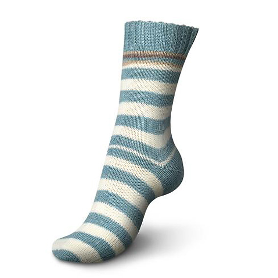 Regia Pairfect Stripe Sock Yarn 1347-Korfu