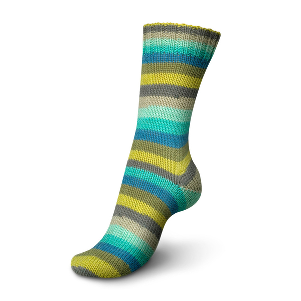Regia Stripemania 6 Ply Sock Yarn 6364-forest