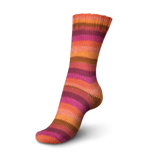 Regia Stripemania 6 Ply Sock Yarn 6368-fire