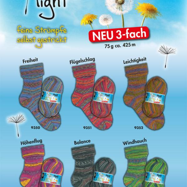Opal Light 3 Ply Sock Yarn