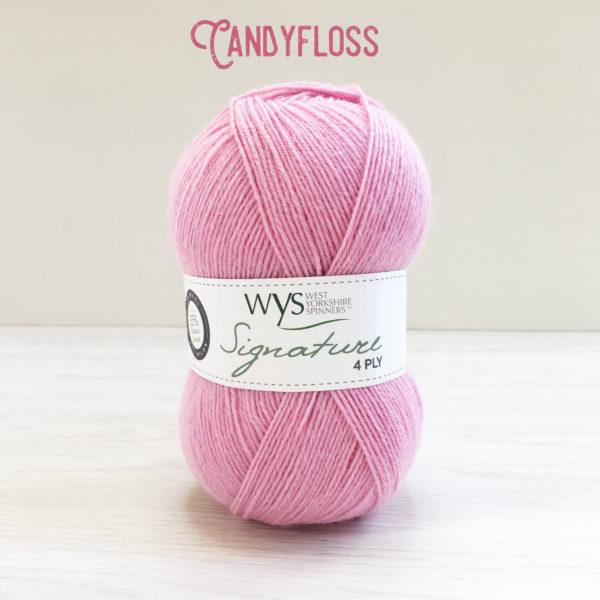 WYS sock yarn candyfloss