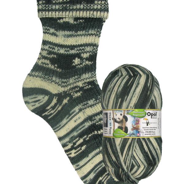 Opal Rainforest sock yarn panda_9454