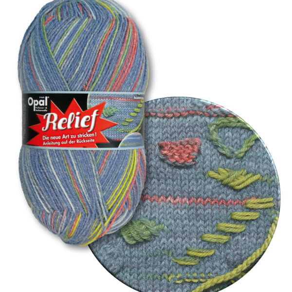 Opal Relief Sock Yarn 4 Ply 9491 Ball