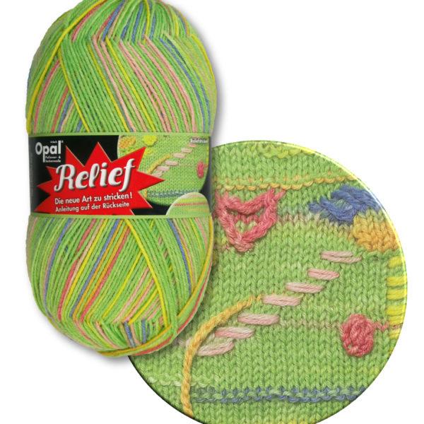 Opal Relief Sock Yarn 4 Ply 9492 Line