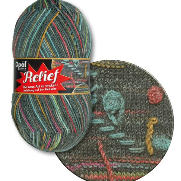 Opal Relief Sock Yarn 4 Ply 9493 Ring