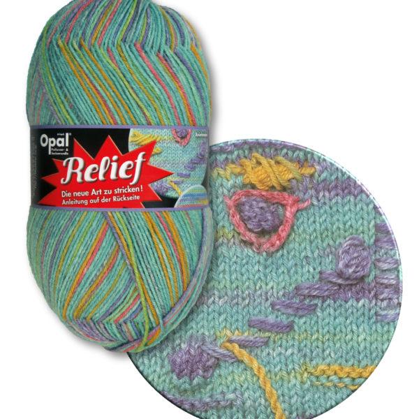 Opal Relief Sock Yarn 4 Ply 9494 Wave