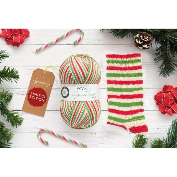 WYS Candy Cane Sock Yarn